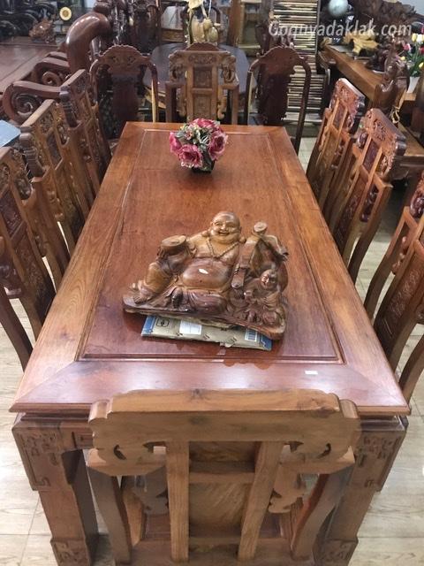 Bộ bàn ăn ghế gỗ hương việt