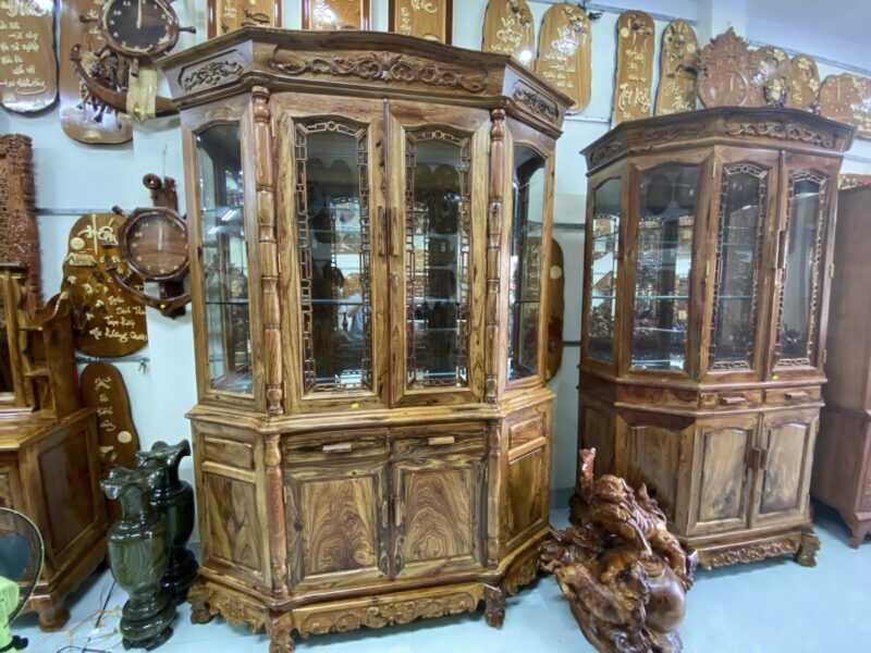 Tủ rượi gỗ cẩm lai